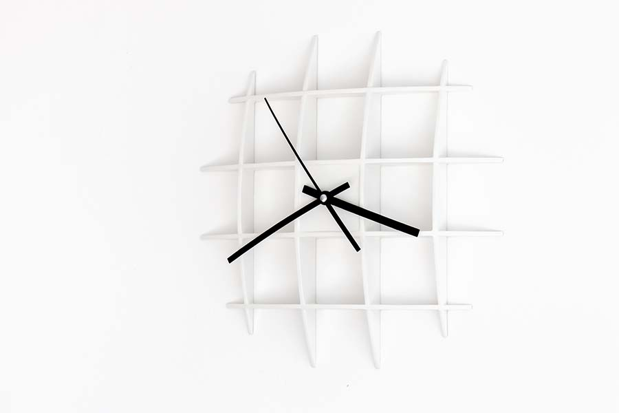 With Non Disturbing Silent Movement Clock Mechanism, The Clock Is Suitable  For Bedrooms And Also For Office Spaces. Minimalistic Shape For Minimalistic  ...